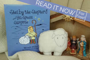 Children's Holiday Book - Shelby the Shepherd and His Special Surprise
